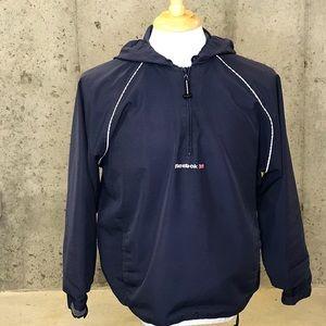 Vintage Reebok Half Zip Windbreaker Jacket Size L